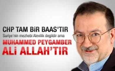 Murat Bardakçı:'' Muhammed Peygamber Ali Allah'tır''